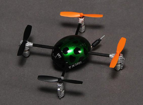 Mariquita de Walkera QR V2 FPV Ultra Micro Quadcopter w / DEVO F4 RTF (Modo 2)