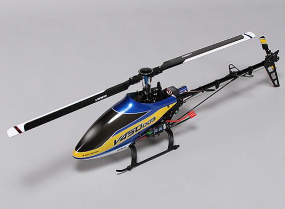 Helicóptero Walkera V450D03 Flybarless con el girocompás de 6 ejes - Modo 1 (RTF)