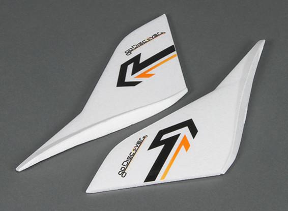 HobbyKing Go Discover FPV 1600mm - Sustitución del ala vertical