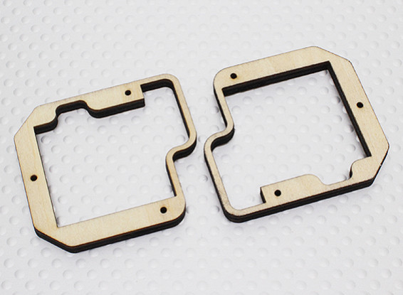 Turnigy capas del montaje servo para Slim Ala Servo - TGY-777MG (2 piezas)