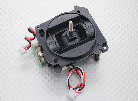 Transmisor del cardán Conjunto (Izquierda) - Modo transmisor 9XR Turnigy 2