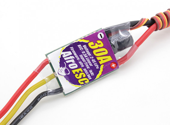 Controlador afro ESC 30Amp del Multi-rotor de velocidad del motor (SimonK firmware)