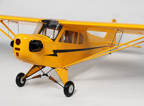 HobbyKing® Piper J3 Cub Balsa / Ply 2312mm (casi listo para volar)