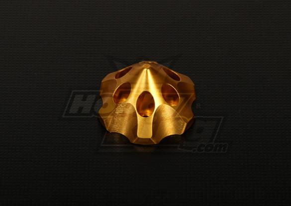 3D Spinner para DLE111 / DA100 / RMT-53 / TMM-106 / 3W 50-100 (de oro)