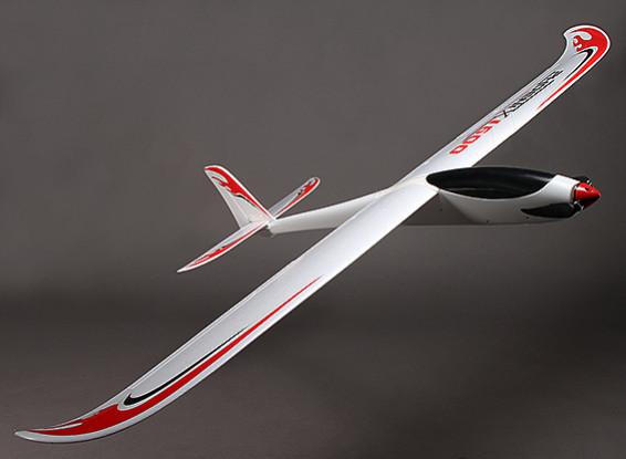 Phoenix 1600 OEP compuesta R / C Glider (PNF)