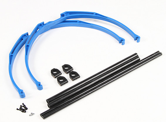 M200 Pata de cangrejo Landing Gear Set DIY (azul)