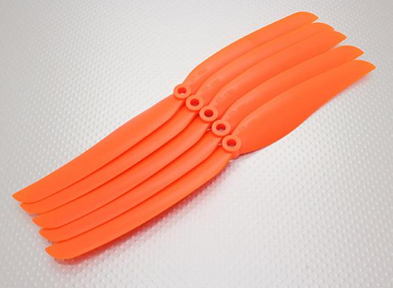 GWS Estilo hélice 10x6 Orange (CCW) (5pcs)