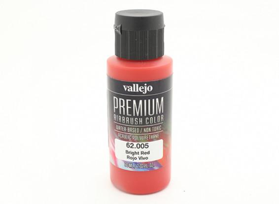 Vallejo Color Superior pintura acrílica - Rojo Brillante (60 ml)