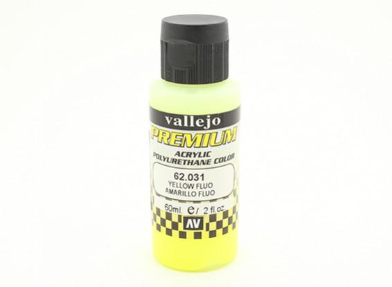 Vallejo Color Superior pintura acrílica - Amarillo Fluo (60 ml)