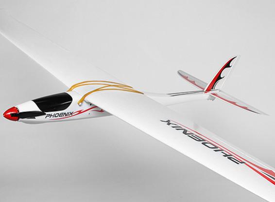 Phoenix 1380 OEP compuesta R / C Glider (PNF)