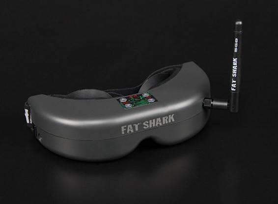 Sistema de auriculares FatShark Teleportador V3 RTF FPV w / Cámara y 5.8G TX