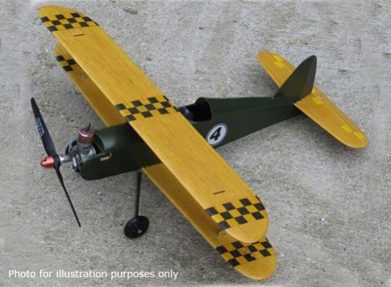 Modelos Halcón negro Halcón de la noche línea de control del biplano de Balsa 508 mm (Kit)
