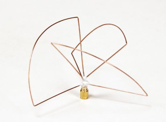 1.2ghz circular polarizado transmisor de la antena (SMA) (LHCP) (corto)
