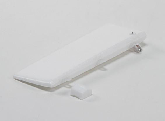 Durafly ™ Hyperbipe 900mm - Reemplazo del timón