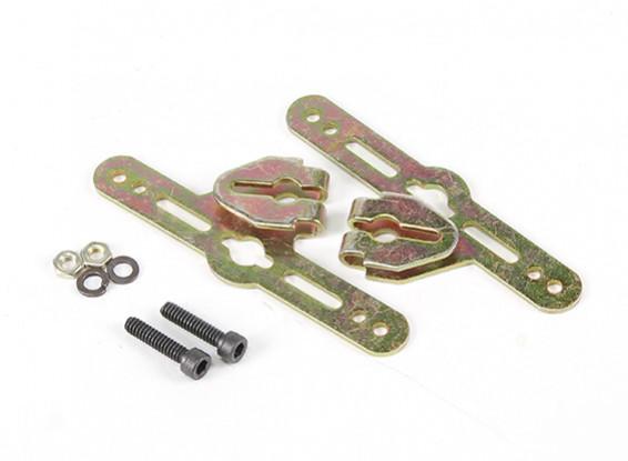 Sullivan 3 / 16inch de las bragas de la rueda ajustable soportes de montaje (1 juego)