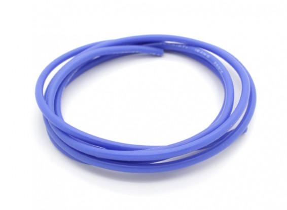 Turnigy Pure-silicona de alambre de 16 AWG 1m (azul)