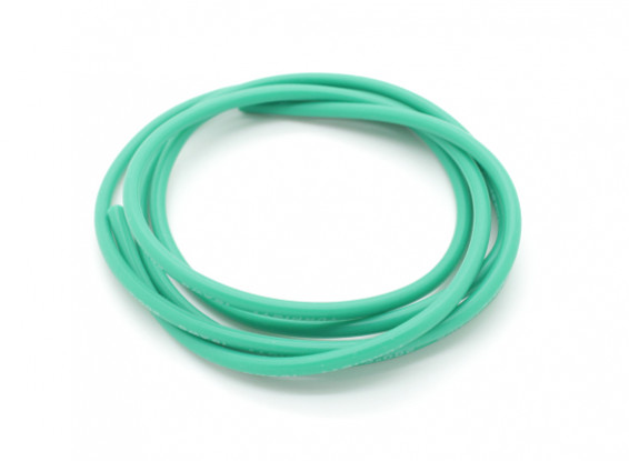 Turnigy Pure-silicona de alambre de 16 AWG 1m (verde)