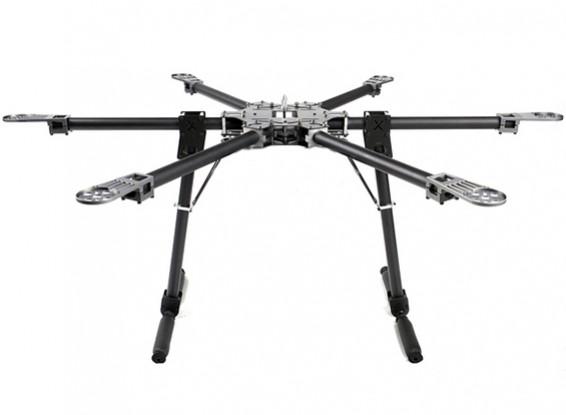 Capítulo X-CAM CF6-870 plegable Hex-Helicóptero (Full Carbon) (900mm)