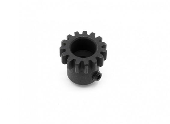 Motor del engranaje 15T w / tornillo prisionero M4x4 - Basher SaberTooth 1/8 Escala