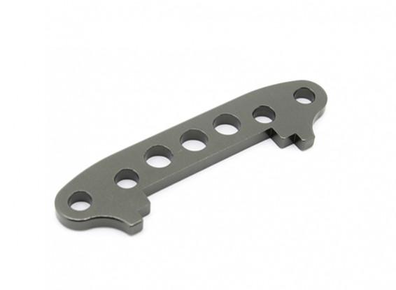 Alu. susp delantera. la placa de brazo de tope - Basher SaberTooth 1/8 Escala (1 unidad)