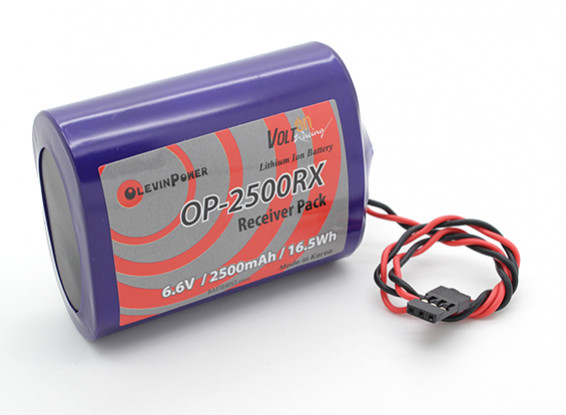 PQ-2500mAh 2S1P 6,6 V (PQ, JR)