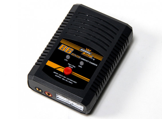 HobbyKing® B6 AC / DC compacto LIPO / NiMh 50W cargador (enchufe de Reino Unido)
