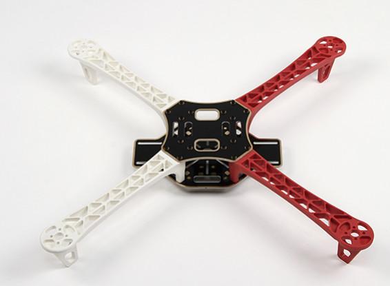 Q450 V3 fibra de vidrio de 450 mm de Quadcopter Frame - Integrado Versión PCB