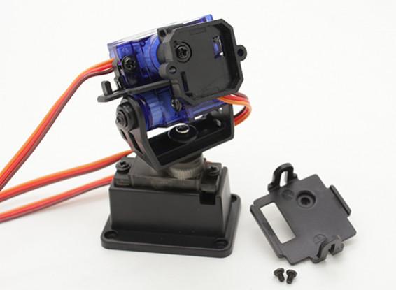 Fatshark 3 ejes Pan Tilt y el Sistema de montaje de cámara de rollo (con el apoyo de la Trinidad seguidor de cabeza)