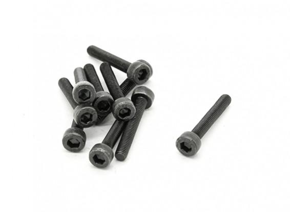 RJX X-TRON 500 M3 x 20mm tornillos de cabeza hueca # X500-8018 (10 piezas)