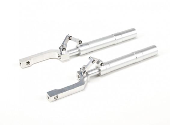 Puntales de aleación Oleo Offset sistemas de arrastre Enlace 148mm ~ 12.7mm Pin (2pcs)