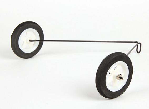 Hobbyking® ™ 1160mm palillo de Slow - Sustitución de aterrizaje principal del engranaje