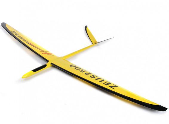 Zeus 2500-V planeador Compuesto 2500mm (ARF)