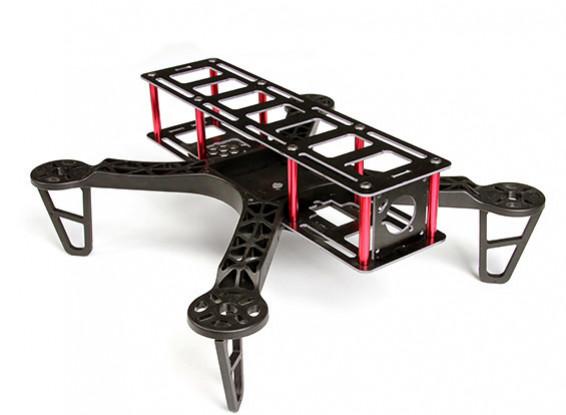 HobbyKing FPV250L marco largo Drone Un tamaño mini FPV aviones no tripulados (kit)