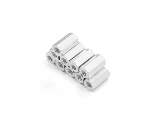 Sección de aluminio ligero Hex Spacer M3 x 10 mm (10pcs / set)