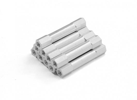 Ligera Ronda de aluminio Sección espaciador M3 x 26 mm (10pcs / set)