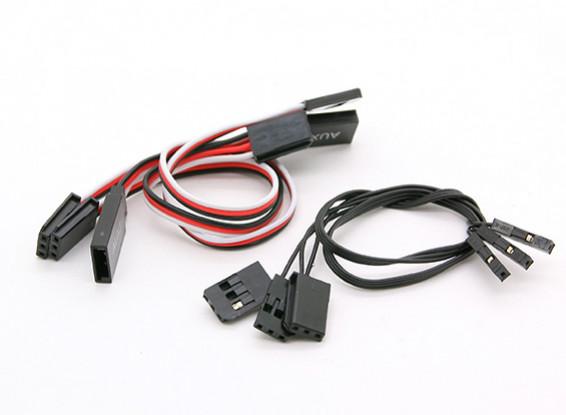Walkera QR X800 FPV GPS QuadCopter - Cable de extensión (4pcs)