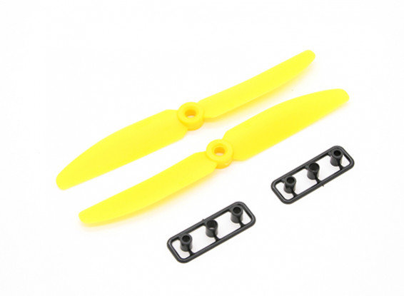 Gemfan Hélice 5x3 amarillo (CW / CCW) (2pcs)