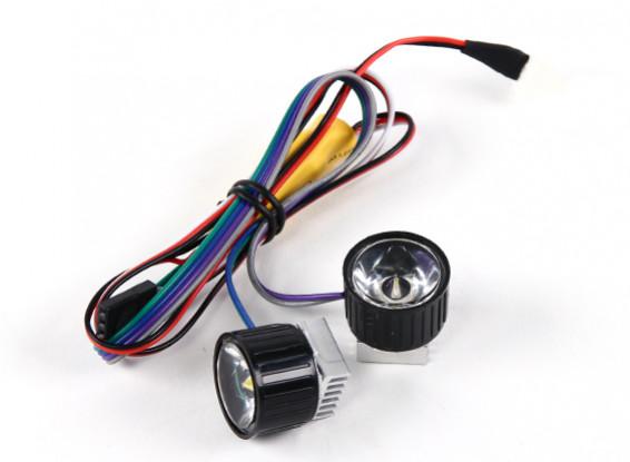 Sistema de alta potencia de la linterna Turnigy