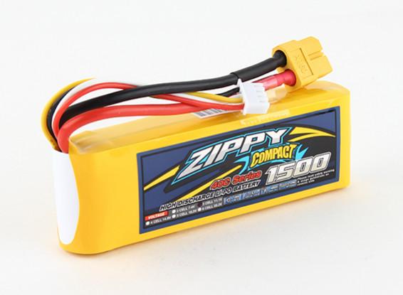 ZIPPY Compacto 1500mAh 3S 40C Lipo Pack de