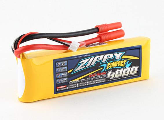 ZIPPY Compacto 4000mAh paquete 2s 60c Lipo