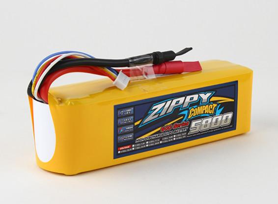 ZIPPY Compacto 5800mAh paquete 4s 60c Lipo