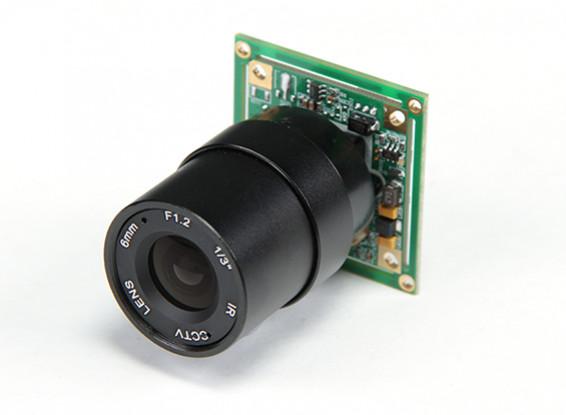 1/3 pulgadas Sony CCD 700TV Líneas de Vídeo F1.2 (NTSC)