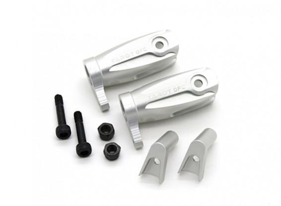 Tarot 450 Pro / Pro V2 DFC hoja principal conjunto de agarre - plata (TL48011-A)