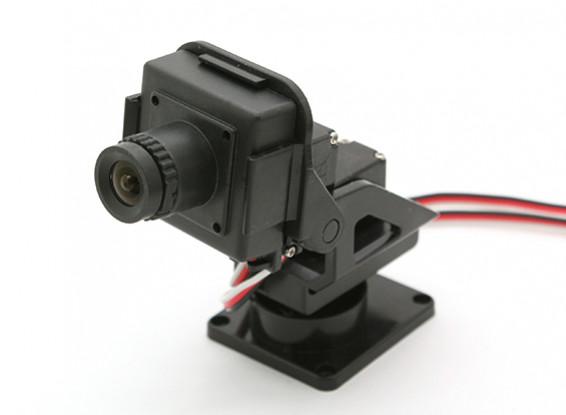 Cámara Boscam CM210 HD con Pan & Tilt cardán para FPV