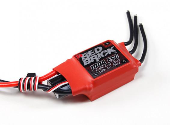 HobbyKing ladrillo rojo 100A ESC (Opto) V2