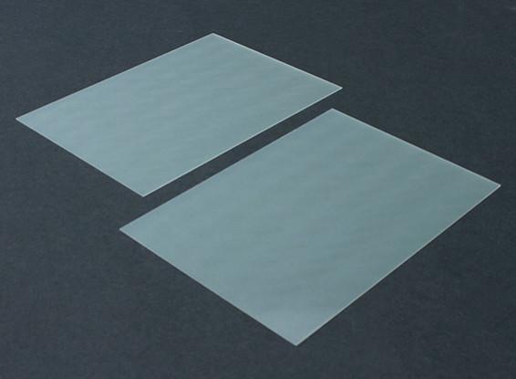 Hoja de FR4 Epoxy Glass 210 x 148 x 0,5 mm (2 piezas)