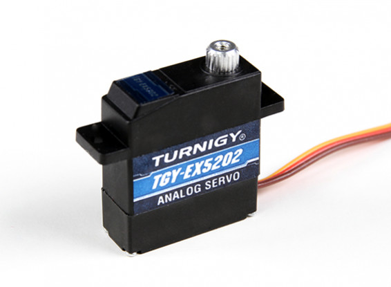 Turnigy ™ TGY-EX5202MG doble cojinete de bolas analógico servo micro 2,8 kg / 0.10sec / 12,4 g