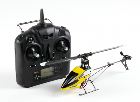 HiSky HFP100 V2 Mini RC helicóptero de paso fijo Modo 2 (Ready-To-Fly)