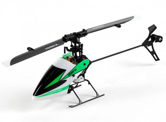 HiSky Hcp100 paso colectivo de 6 canales helicóptero de Flybarless Modo 2 (listo para volar)