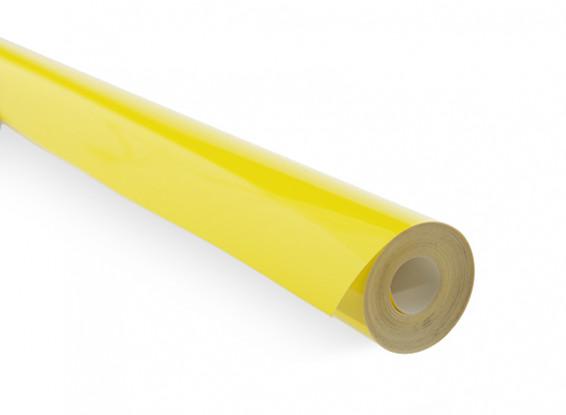 Recubrimiento de película Cian sólido amarillo (5mtr) 105